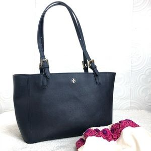 🌸OFFERS?🌸 Tory Burch Navy Blue Small Tote